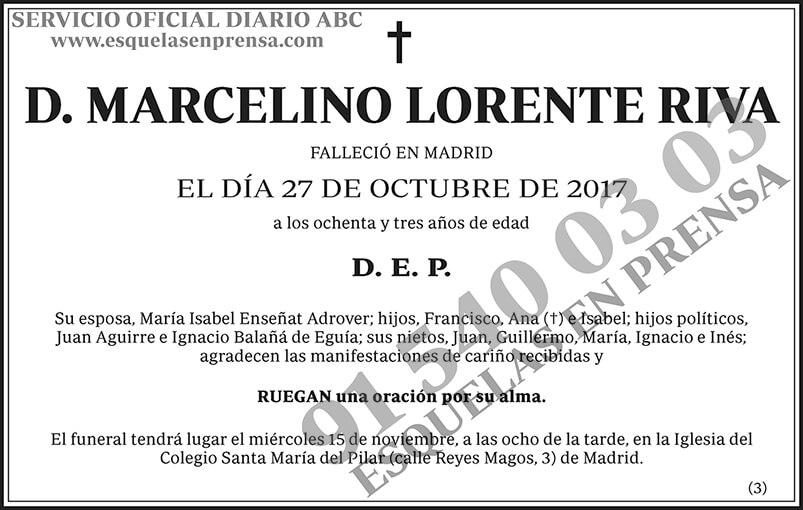 Marcelino Lorente Riva